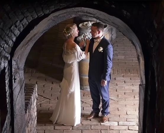 Svatební video Anička a Josef
